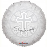 "CHRISTENING BALLOON  18""  19239-18"